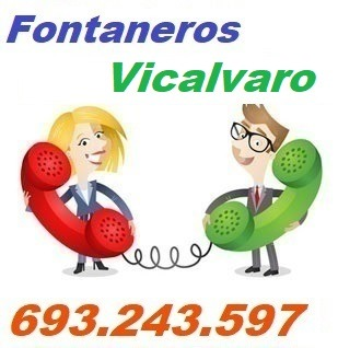 Telefono de la empresa fontaneros Vicalvaro