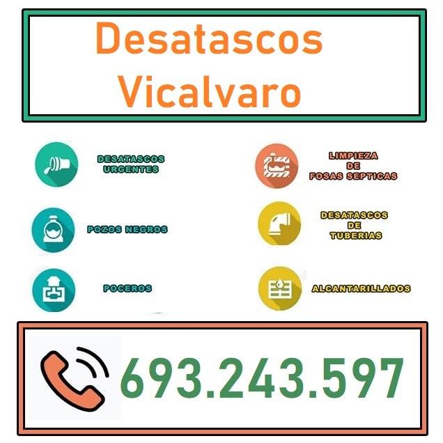 Desatascos Vicalvaro